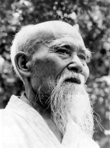 ueshiba o sensei aikido